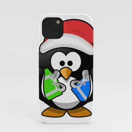 Penguin with Gifts iPhone Case