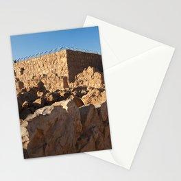 Masada Israel Ruins Stationery Cards