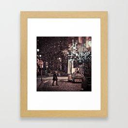 The Little Match Girl Framed Art Print
