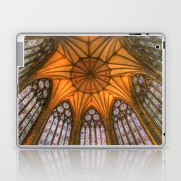The Chapter House York Minster Laptop & iPad Skin