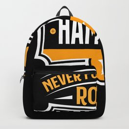 Never forget your Roots German Cities Gift Hamburg Backpack