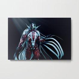 Spawn Horizontal1 Metal Print