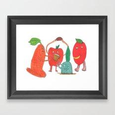 Tomato. Framed Art Print