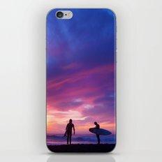 Surfer's Sunset iPhone Skin