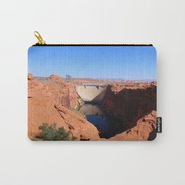 Glen Canyon Dam And Colorado River Carry-All Pouch