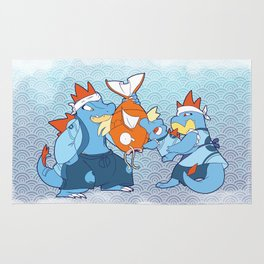 Johto Starters - The Diles Rug