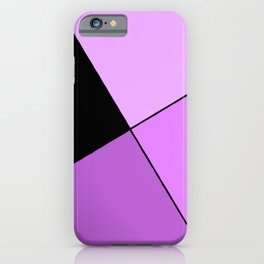 Purple home design iPhone Case