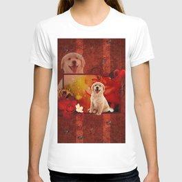 Sweet golden retriever T-shirt