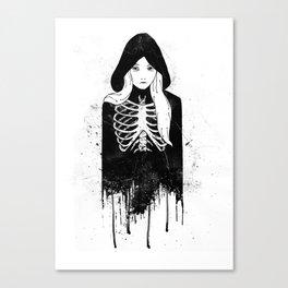 Bones Canvas Print
