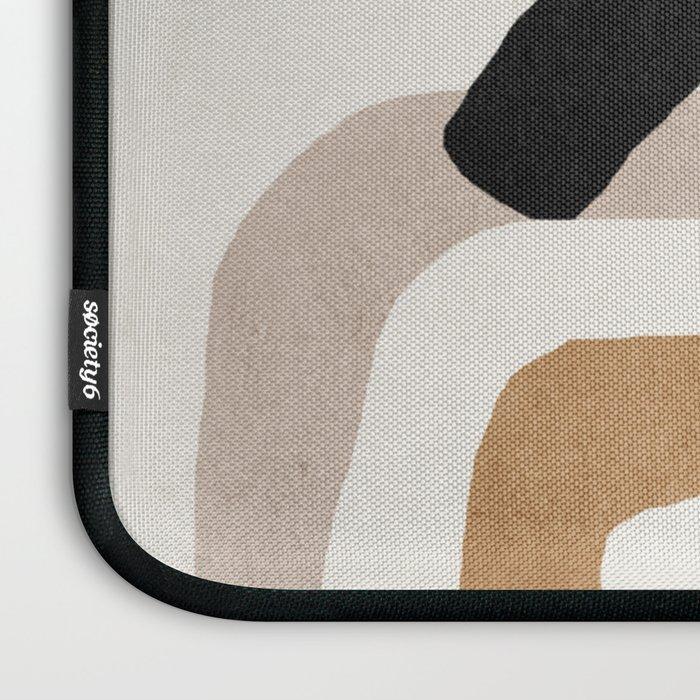 Abstract shapes art, Mid century modern art Laptop Sleeve