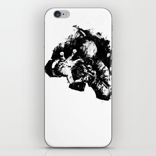 Leroy (Messy Ink Sketch) iPhone & iPod Skin