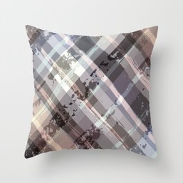 Crossword Traditional Quilt Pattern Throw Pillow