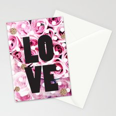 Love in Roses Stationery Cards
