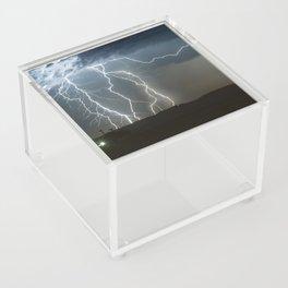 Lightning Cluster Acrylic Box