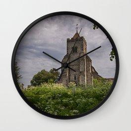 St Peter Firle Wall Clock