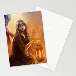 Arabian fantasy Stationery Cards