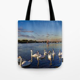 The River Crouch Essex Tote Bag