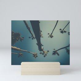 Sunny Palm Trees Mini Art Print