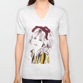 Brigitte Bardot Unisex V-Neck
