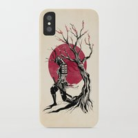 redhead iPhone & iPod Cases featuring Redhead samurai by Rafapasta