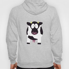 Cow in Cartoon Stlye Hoody