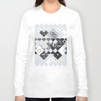 clear Long Sleeve T-shirts featuring Clear sky by WeLoveHumans