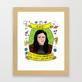 Rae Earl Framed Art Print