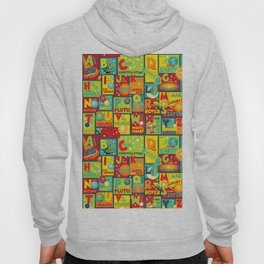 Space Alphabet Hoody