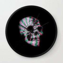 skull. Wall Clock