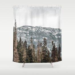 Sawtooth Canopy Shower Curtain