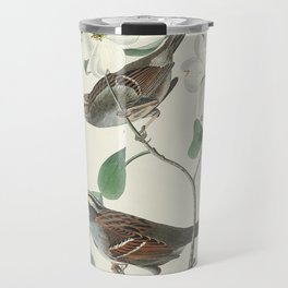 White throated Sparrow from Birds of America (1827) by John James Audubon etched by William Home Liz Travel Mug