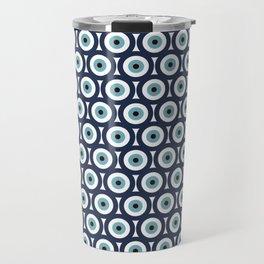 Evil eye pattern Travel Mug