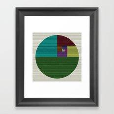 The Circle #22 Framed Art Print