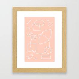 Discotropic Framed Art Print