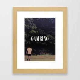 Childish Gambino Framed Art Print