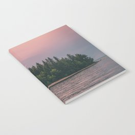 Lonely Island on Lac Saint-Jean Notebook