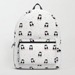 little penguin pattern Backpack