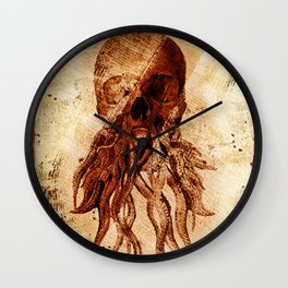 OctopuSkull Wall Clock