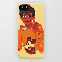 phichit and hamsters iPhone Case