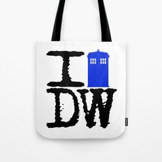 I Love Doctor Who! Tote Bag