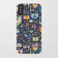 wild things iPhone & iPod Cases featuring Wild Things by Paula McGloin Studio