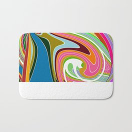 Re-Created  Sour Candy 2 by Robert S. Lee Bath Mat