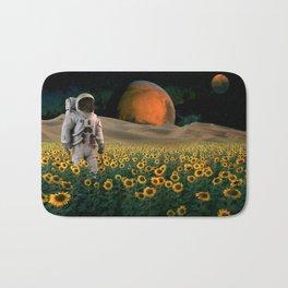 The Sunflower Field Bath Mat
