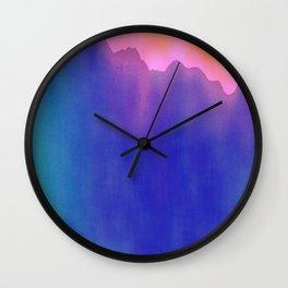 Blue Mountain Wall Clock