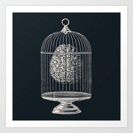 Free My Mind Art Print