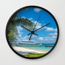 Kradan Island Thailand Wall Clock