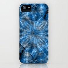 Fractal Imagination I - Sapphire iPhone (5, 5s) Slim Case