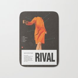 Self Rival Bath Mat