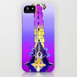 Fusion Keyblade Guitar #127 - Silent Dirge & Saix's Claymore iPhone Case