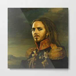 Tim Minchin - replaceface Metal Print